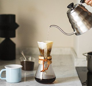 "Coffee Mania, La cafetière chemex, reine du ""slow coffee"""