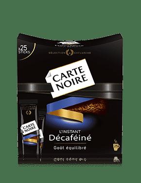 CARTE NOIRE L'INSTANT DÉCAFÉINÉ STICKS